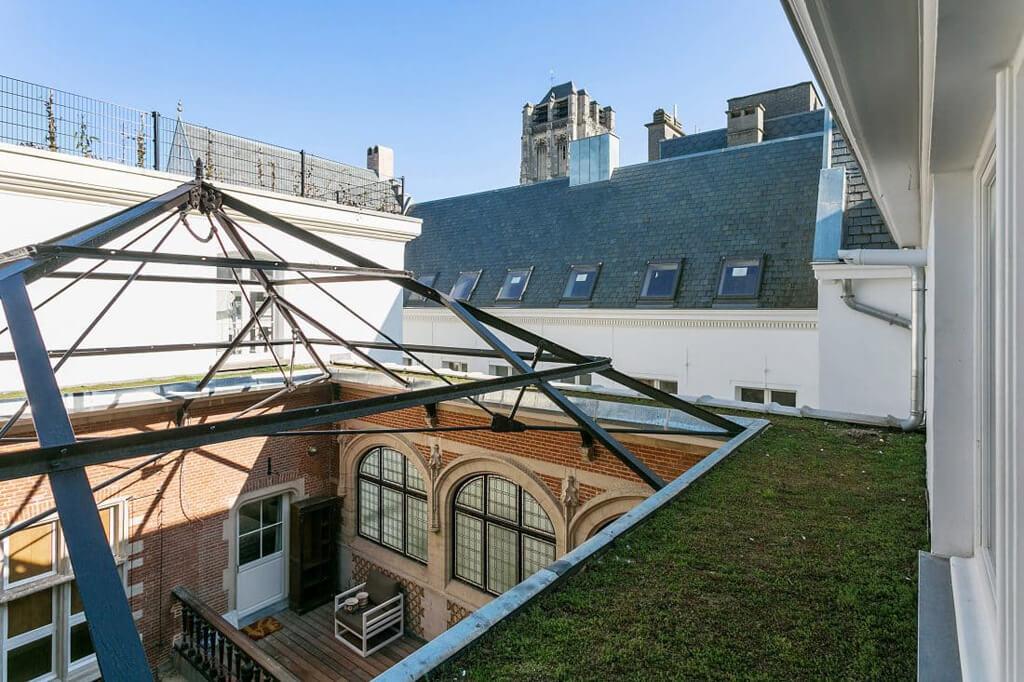 Dachterrasse antwerpen