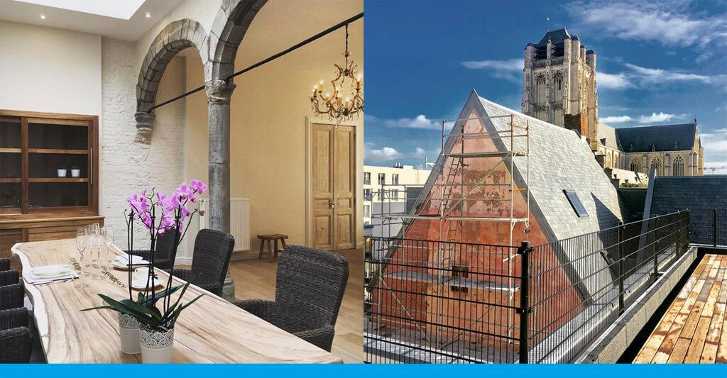 Skydoor elektrische Dachzugangsluke Dachterrasse Antwerpen