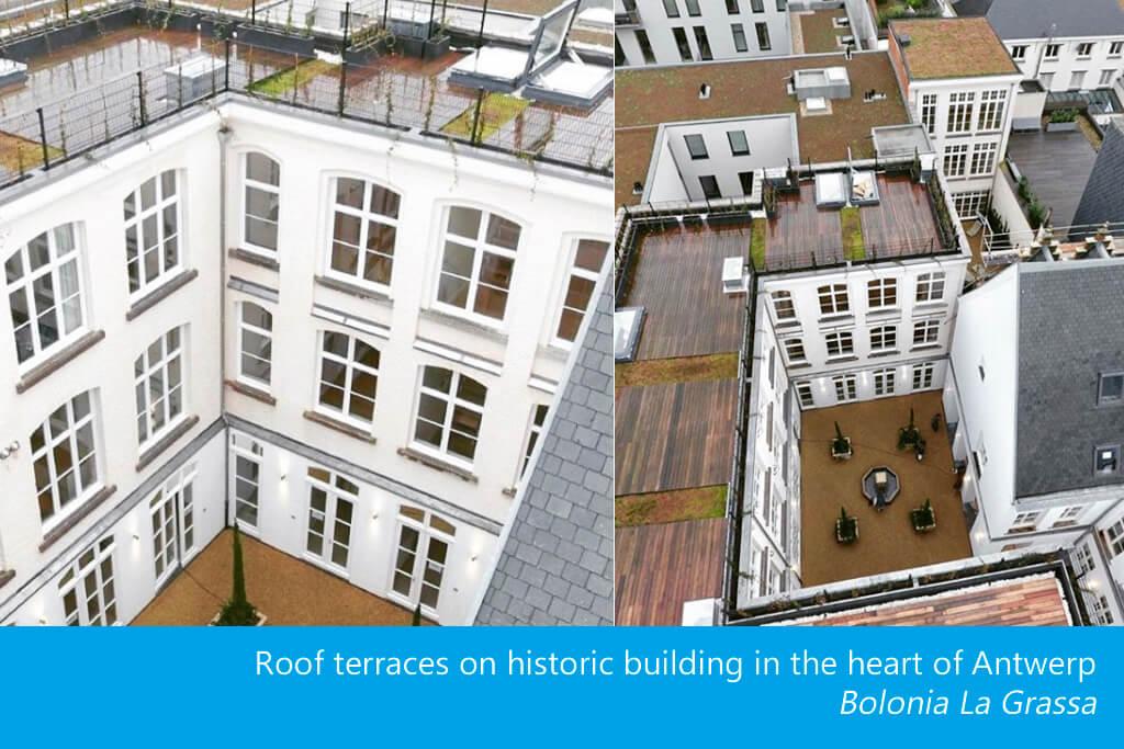 UK Durchstiegsluke - Dachterrasse Bolonia La Grassa Antwerpen