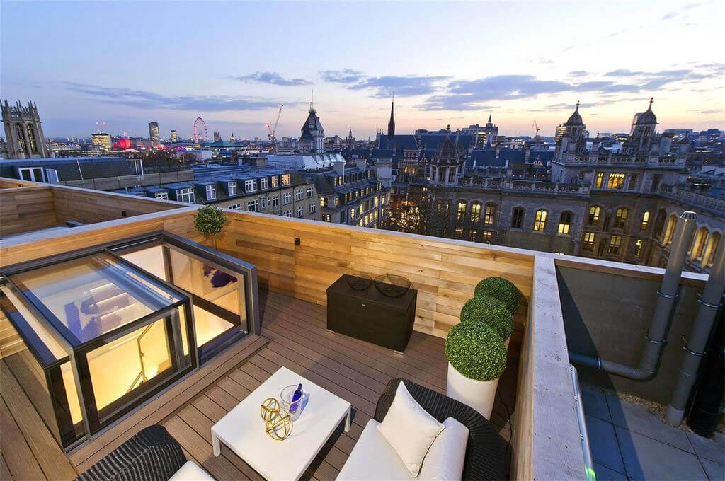 Dachluken für Dachterrasse