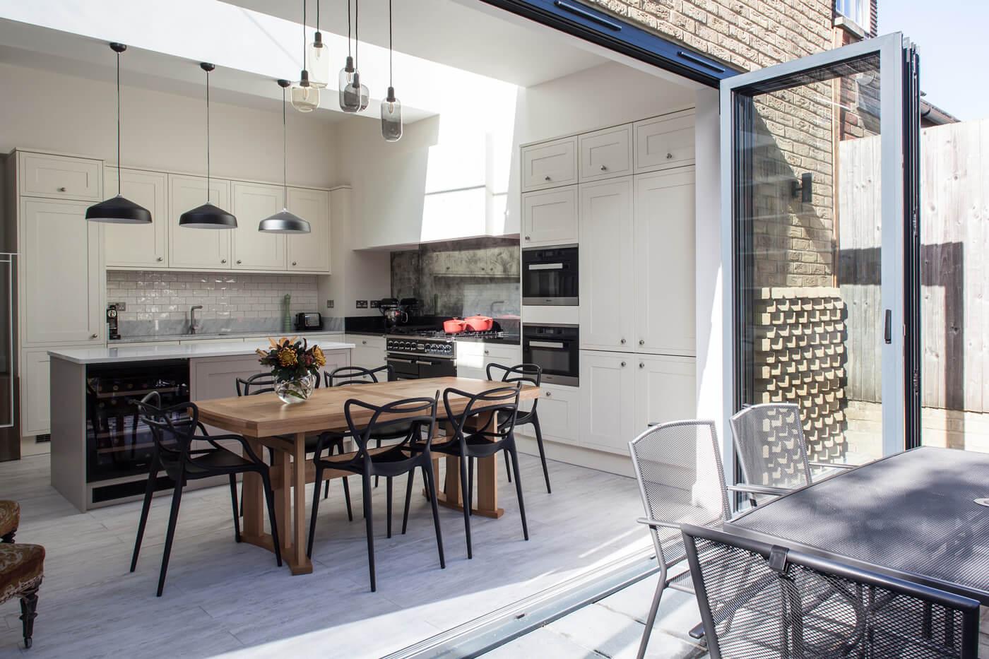 Tageslicht in Küchenerweiterung - Glazing Vision Europe