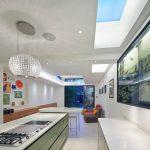 Dachfenster in der Küche